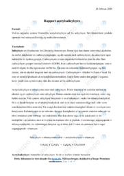 Acetylsalicylsyre | Kemirapport | 12 i karakter