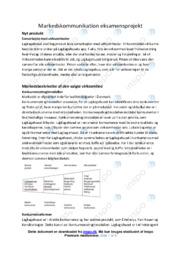 Lagkagehuset | Markedsanalyse | 10 i karakter