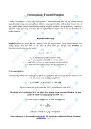 Finansielregning    Emneopgave   12 i karakter