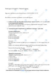 Finansiel regning   Emneopgave   10 i karakter