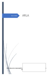 Case om Arla | Afsætningsopgave