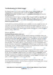 Værdikædeanalyse for Ørbæk bryggeri | Afsætning