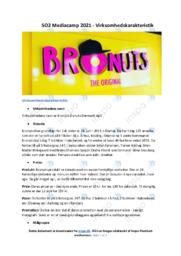 Bronuts | Analyse | 10 i karakter