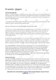 Gogoro   Analyse   10 i karakter