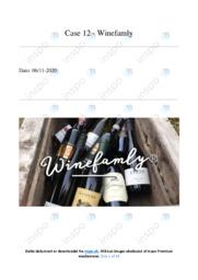 Winefamly   Analyse   10 i karakter