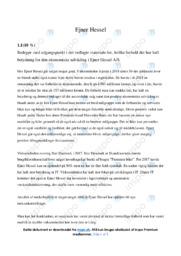 Ejner Hessel AS   Afsætning   10 i Karakter