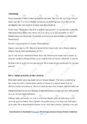 Moon rider   Analyse   Jørgen Leth   10 i Karakter