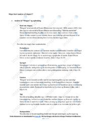 Ringen | Noter Analyse | Karen Blixen