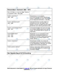 Den Signede Dag | Analyse | N.F.S Grundtvig
