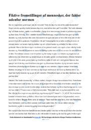 Du burde skamme dig | Analyse | Marie Aubert | 10 i Karakter