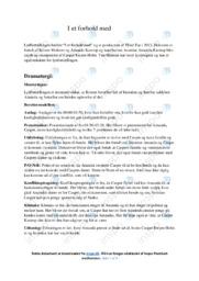 I et forhold med | Analyse | 10 i karakter