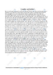 Livets vejleder   Dansk Essay   10 i Karakter