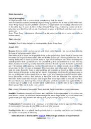 Sidste dag | Analyse | 10 i karakter