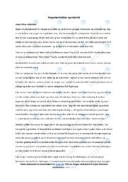 Takketale  Analyse   Jonas Eika   10 i Karakter
