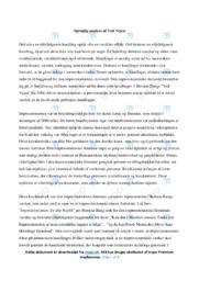 Ved Vejen | Analyse | Herman Bang | 10 i Karakter
