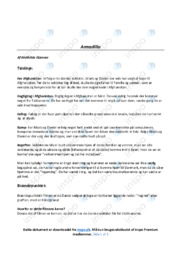 Armadillo   Analyse   12 i karakter