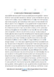 Stop nu med at kalde jeres døtre for prinsesser | Analyse