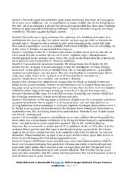 Det forsømte forår | Noter Analyse | Hans Scherfig