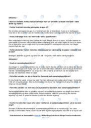 Samarbejdspolitikken | DHO Analyse | 10 i Karakter