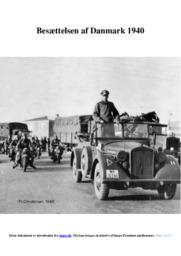 Besættelsen af Danmark 1940 | DHO