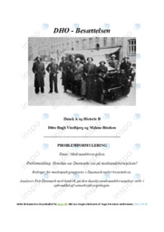 Modstandsbevægelsen | DHO | 10 i karakter