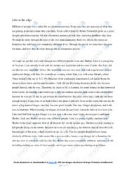 Life on the edge   Essay   10 i karakter
