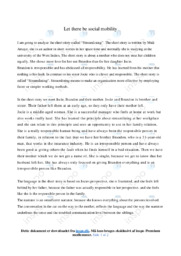 Streamlining   Analytical essay   10 i karakter