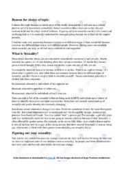 Sexuality   Essay   12 i karakter