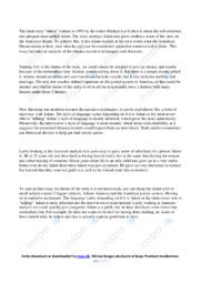 Adam | Analytical essay | 12 i karakter