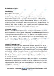 Værdikædeanalyse af bObles   12 i karakter