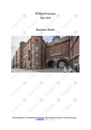 Brøchner Hotels   Erhvervscase   Noter