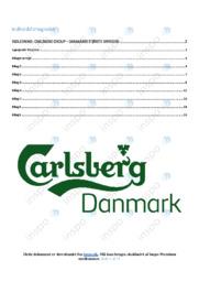 Carlsberg Group   Erhvervsøkonomi   10 i karakter