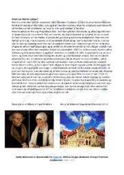 Hvem var Martin Luther | Noter til historie