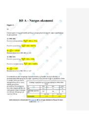 Norges økonomi | IØ opgave | 10 i karakter