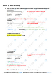 Rente- og annuitetsregning | Noter