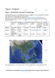 Jordskælv | Opgave