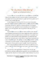 'Er du mors lille dreng' | Analyse | Psykologi
