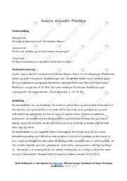 Analyse af prædiken | Religionsopgave | 10 i karakter