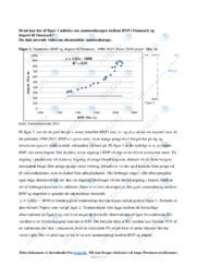 BNP og import   Opgave   10 i karakter