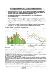 Coronavirus effekt på globaløkonomien   Samfundsfag