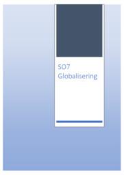 Globalisering | SO | 10 i karakter