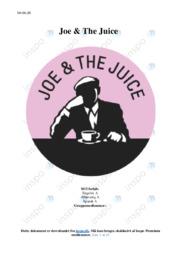 Joe and The Juice | SO | 10 i karakter