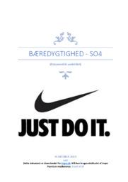 Nike og bæredygtighed | SO | 10 i karakter