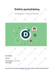 Politisk markedsføring | SOP | 10 i karakter
