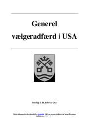 Generel vælgeradfærd i USA | SRO | 10 i karakter