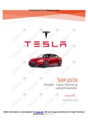 Tesla | Fremtid | SRP | 12 i karakter
