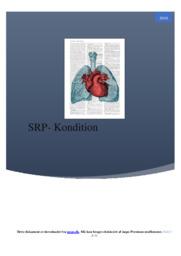 Kondition | SRP | 10 i karakter