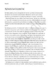 Kronik Opfattelse af moderne nyhedsformidling – Nyhedsnarcissisterne kommer af Noa Redington