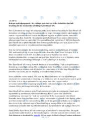 Ejner Hessel AS | VØ opgave | 10 i karakter