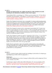Nordex Food | VØ opgave | 10 i karakter